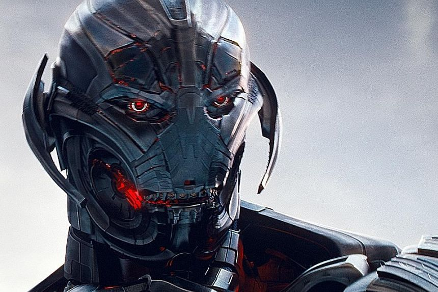 Two companies claim ownership of Mova, used to animate the faces of digital superheros in movies such as Avengers: Age Of Ultron (left).
