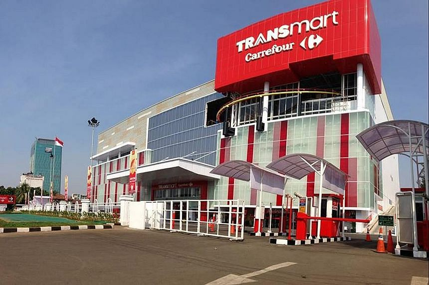 PT Trans Retail operates hypermarkets, supermarkets and cash-and-carry stores under the Carrefour and TranSmart brands.