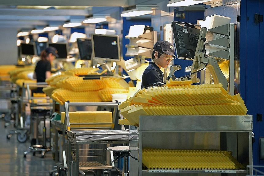 With the economic outlook gloomy and flagging labour productivity, last year's wage growth will unlikely be repeated this year. Furthermore, the manufacturing industry is in the doldrums, though MTI said the sector continues to be important as it pro