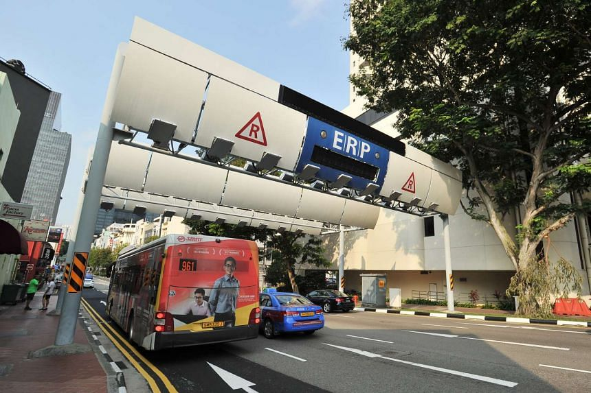 The new ERP system, which will replace the current gantries, will have islandwide coverage and the ability to charge for distance travelled.