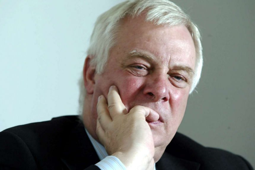 File picture of former governor of Hong Kong Chris Patten.