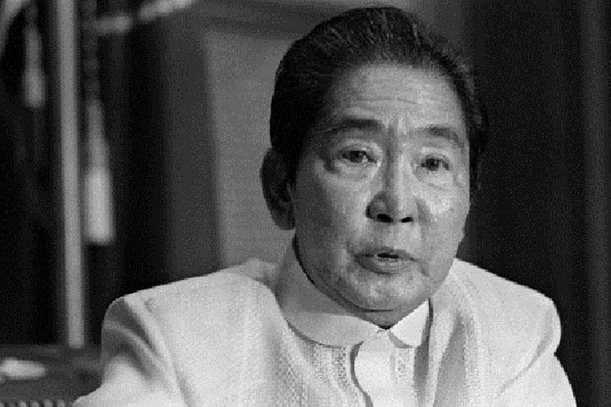 Ferdinand Marcos, the late dictator who ruled the Philippines for 21 years.
