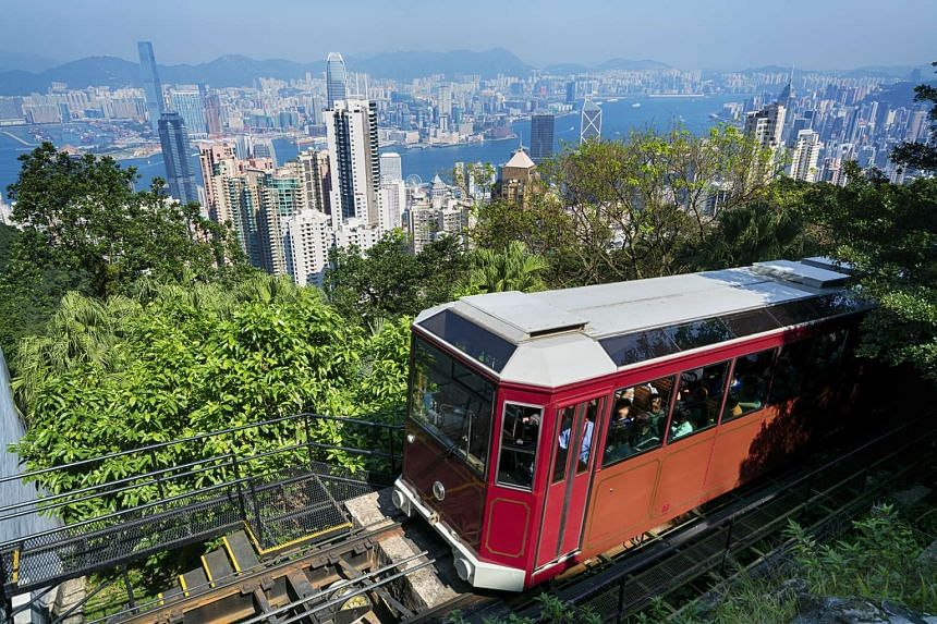 Families can take the tram or a leisurely stroll along Peak Circle Walk up to The Peak for breath-taking panoramic views of Victoria Harbour.