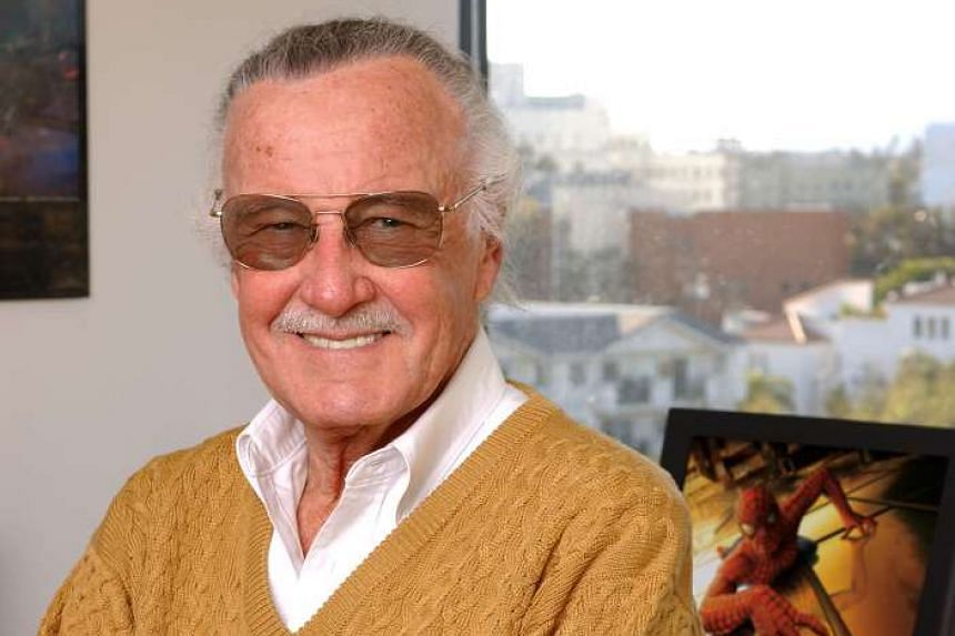 Comic book creator Stan Lee