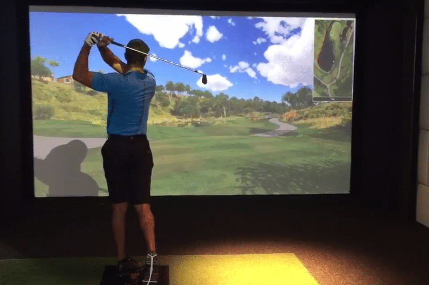 Tiger Woods posted a video of himself swinging a golf club on Wednesday (Feb 24), shooting down reports that suggested he had endured setbacks in his recovery from back surgeries.