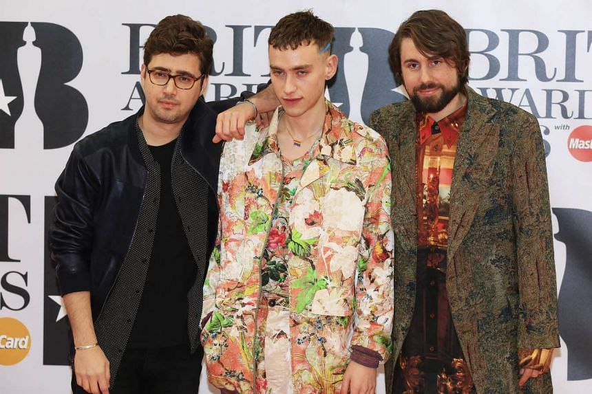 British band Years & Years arrive at the Brit Awards, Feb 24, 2016.