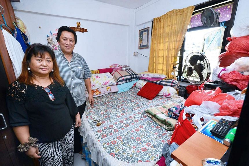 Mr Tan and his wife, Maria, 45, live in a rental flat, but they provide free lunch to the seniors in their area every day.