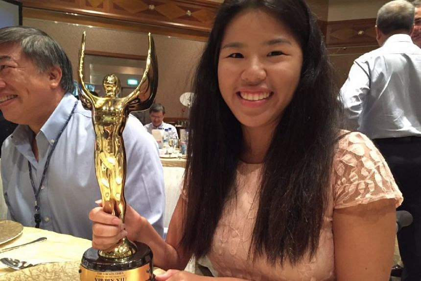 Para-swimmer Yip Pin Xiu was named The Straits Times' Athlete of the Year 2015.