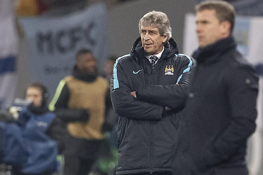 While City have two-goal edge over Dynamo, Pellegrini has warned them that the tie is still not settled.