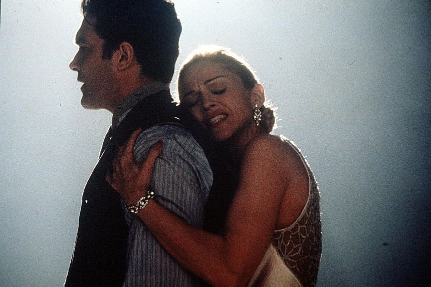 Madonna (above, with Antonio Banderas) stars as Argentinian First Lady Eva Peron in the film version of the Andrew Lloyd Webber stage musical, Evita.