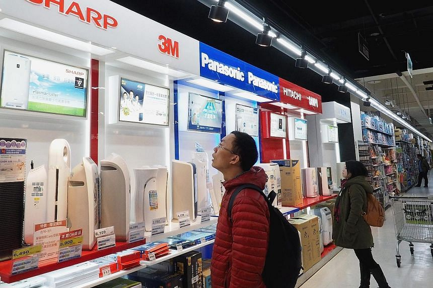 """The deal, under which Taiwan's Foxconn would get control of Japan's Sharp by spending 484.3 billion yen (S$6 billion) to buy additional shares, now looks to be in doubt. Foxconn said it was postponing any signing of a definitive agreement due to """"new"""