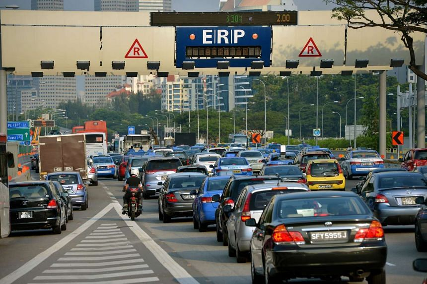 The new system will replace the current gantry-based ERP system (pictured).