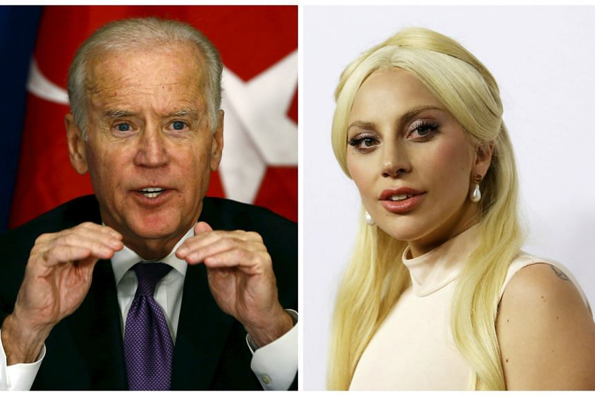 Biden will be introducing Lady Gaga's performance of nominated song Til It Happens To You.