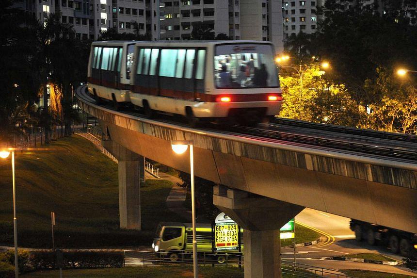 A traction power fault caused a short delay at Bukit Panjang LRT early Friday morning.