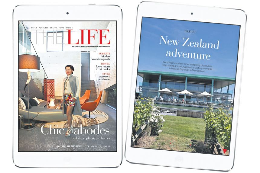 The latest issue of The Straits Times' award-winning digital magazine The Life launches today.