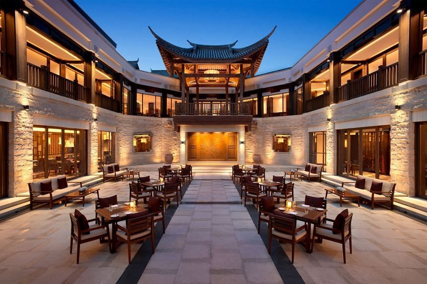 The group's revenues rose 34 per cent to $123.2 million for the quarter but this was offset by lower hotel management fees and spa/gallery operations as well as reduced architectural and design fees owing to China's slowdown.