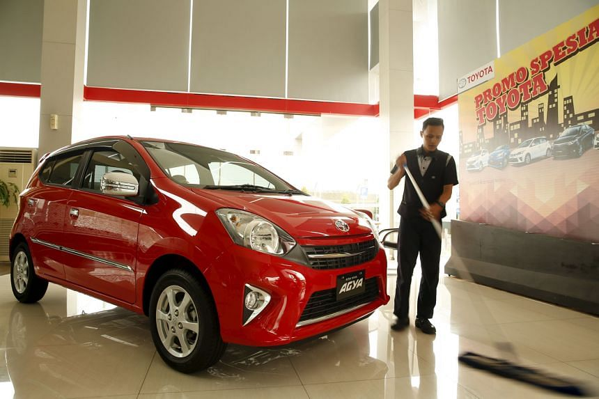 The group's main profit conbtributor - Astra International - which also runs this Toyota showroom in Jakarta, saw reduced profit contributions from all its major business segments