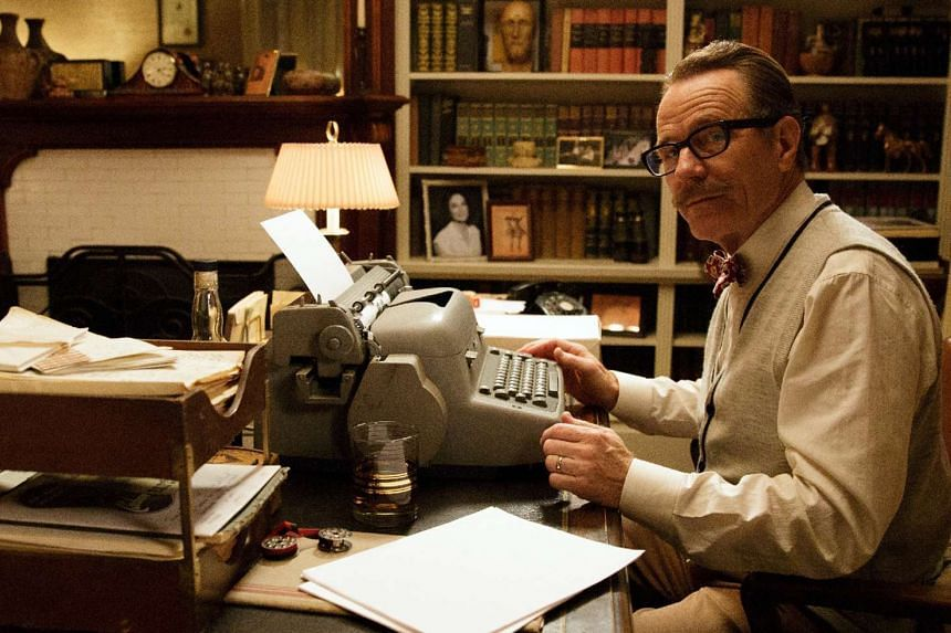 Bryan Cranston (above) plays the blacklisted Hollywood screenwriter Dalton Trumbo in the film set in the 1950s and 1960s.