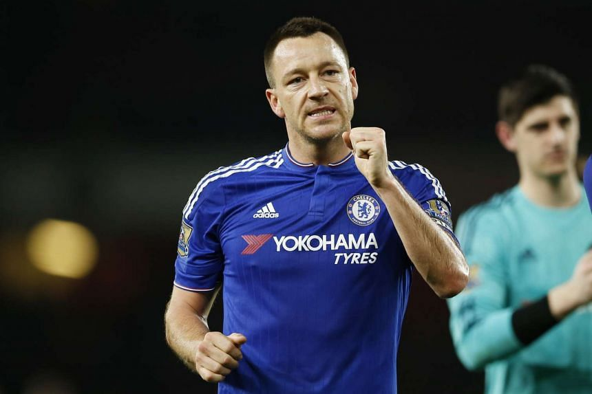 Terry is still recovering from a hamstring injury.