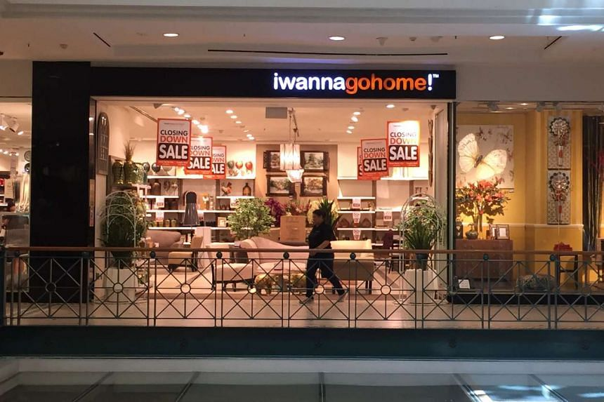 Home furnishing brand iwannagohome's outlet at Tanglin Mall.