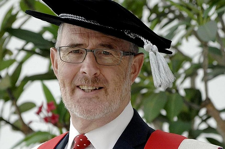 University of Reading Malaysia provost Tony Downes. It aims to have international students form 30 per cent of intake.