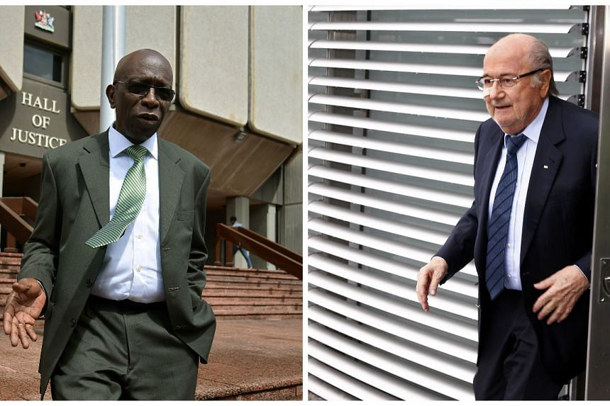 Former Fifa vice-president Jack Warner (left) said Fifa's former president Sepp Blatter's fall from grace was one of his own making.
