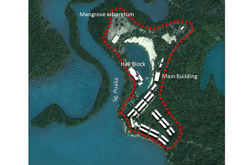 The Ubin Living Lab is a 2.1-hectare facility located at the former Celestial resort at the southwestern tip of the island.