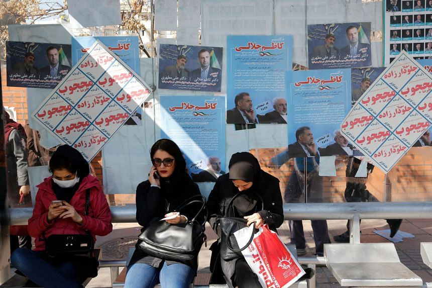 In all, 55 million Iranians will vote for 290 new MPs for Parliament and 88 members of the Assembly of Experts, which are both currently in the hands of hardliners. The vote could determine whether the Islamic Republic continues to emerge from diplomatic
