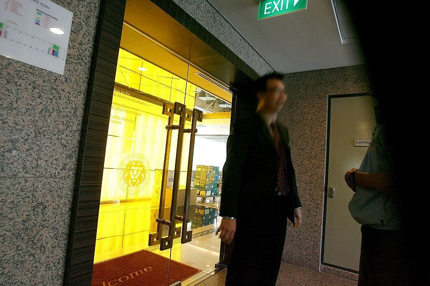 Visitors to Sunshine Empire's Toa Payoh office were turned away on Nov 13, 2007, after the authorities started investigating it. About 180 ex-investors of The Gold Guarantee, which was set up in 2011, signed a petition at Hong Lim Park on March 6, 20