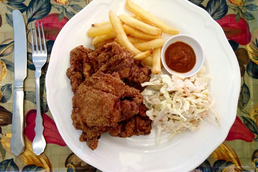 Southern-style buttermilk deep-fried chicken
