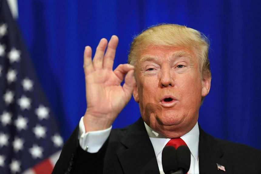 """US presidential candidate Donald Trump's political rhetoric has been described as """"racist"""" and evocative of Adolf Hitler."""