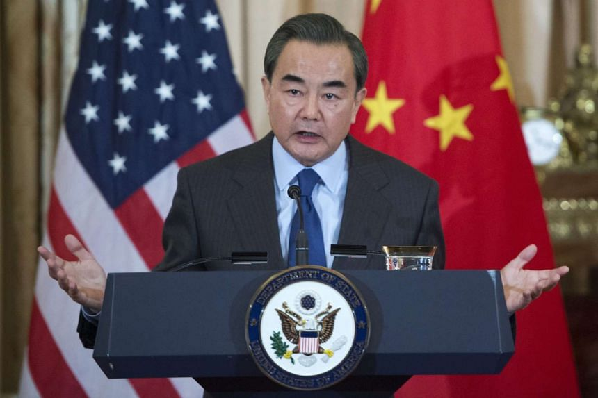 Chinese Foreign Minister Wang Yi defends Beijing's deployment of military hardware in the South China Sea.
