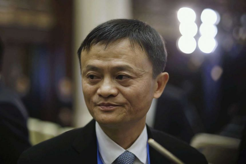 Jack Ma attends the opening ceremony of the second annual World Internet Conference on Dec 16, 2015.