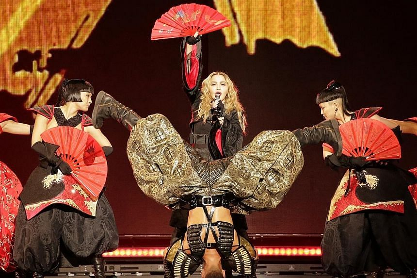 Pop superstar Madonna's concert at the National Stadium last night, part of her global Rebel Heart Tour, was altered slightly for the Singapore audience, with religiously sensitive content removed.