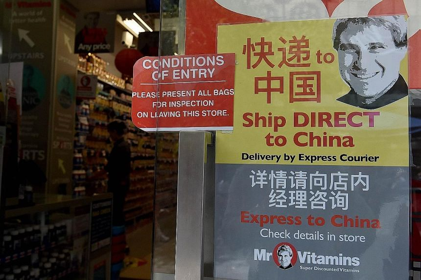 Soaring demand from Asian consumers for premium Australian health products such as vitamin supplements has prompted some companies to start direct shipping services to key markets such as China. Baby milk powder in particular is highly sought after b