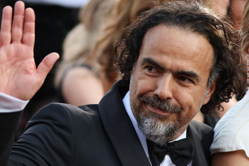 Director Alejandro Inarritu arriving on the red carpet for the 88th Oscars on Feb 28, 2016.