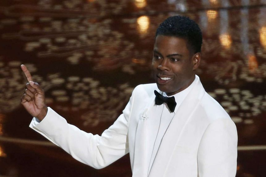 Host Chris Rock opening the show at the 88th Academy Awards on Feb 28, 2016.