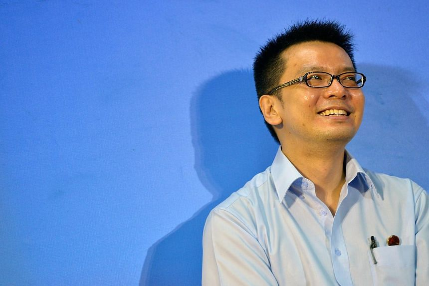 Workers' Party candidate Daniel Goh.