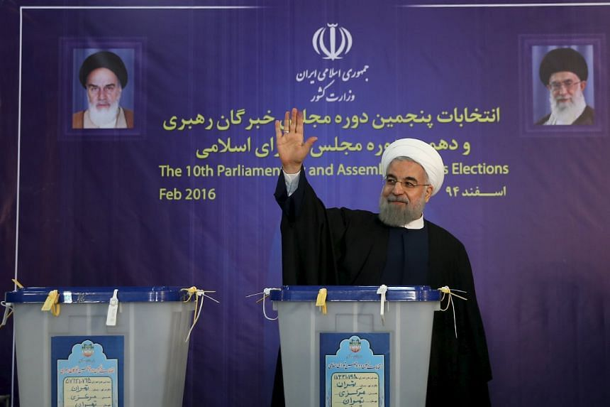 Iranian President Hassan Rouhani and his allies won 15 out of 16 seats reserved for Teheran in the Assembly of Experts.