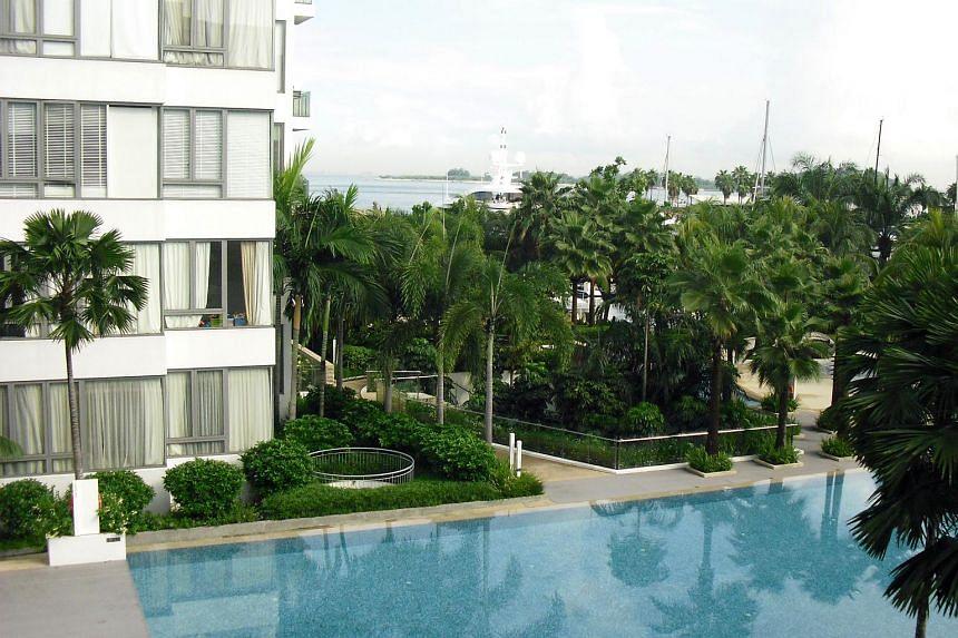 Marina Collection, a luxury condominium at Sentosa Cove.