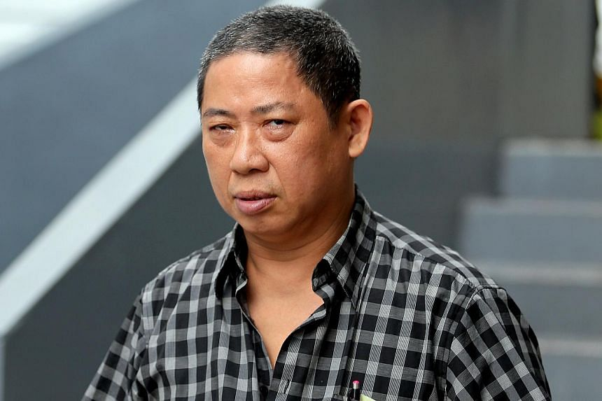 Tan Seng Choon was jailed for 24 weeks for assaulting an officer from the Ministry of Social and Family Development.