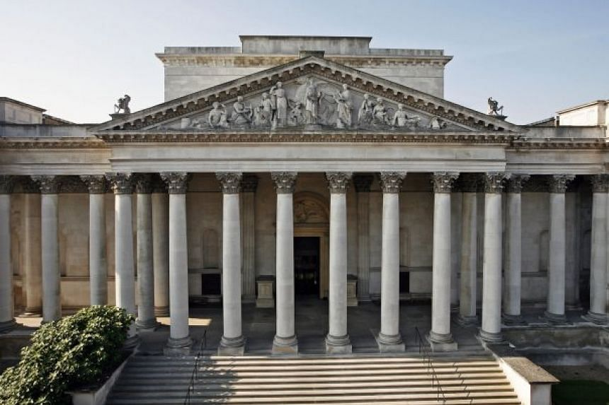 The Fitzwilliam Museum in Cambridge was one of many museums across Britain that were targeted for a planned raid.