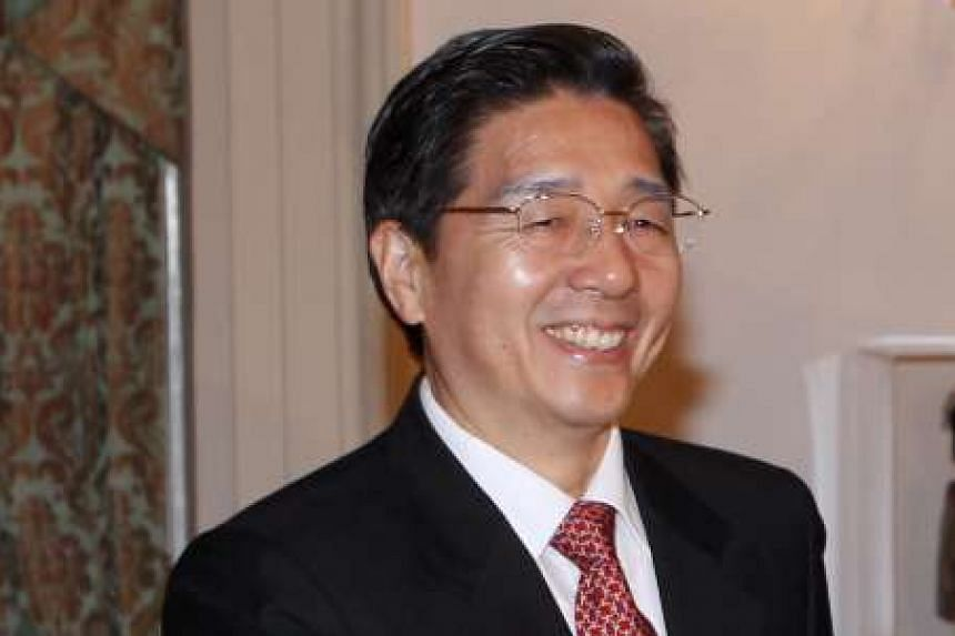 Guo Shengkun, China's State Councilor and Minister of Public Security.