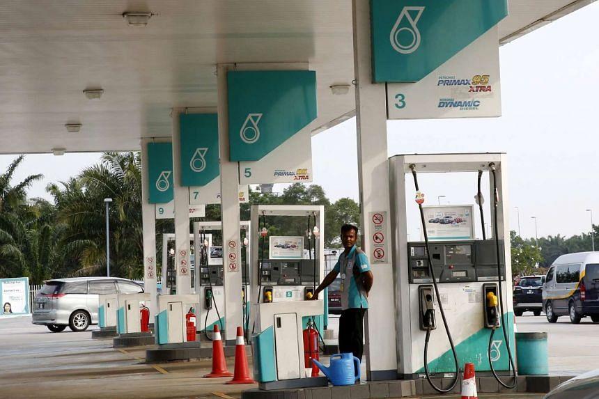 Petronas reported a fourth-quarter net loss of $1.6 billion.