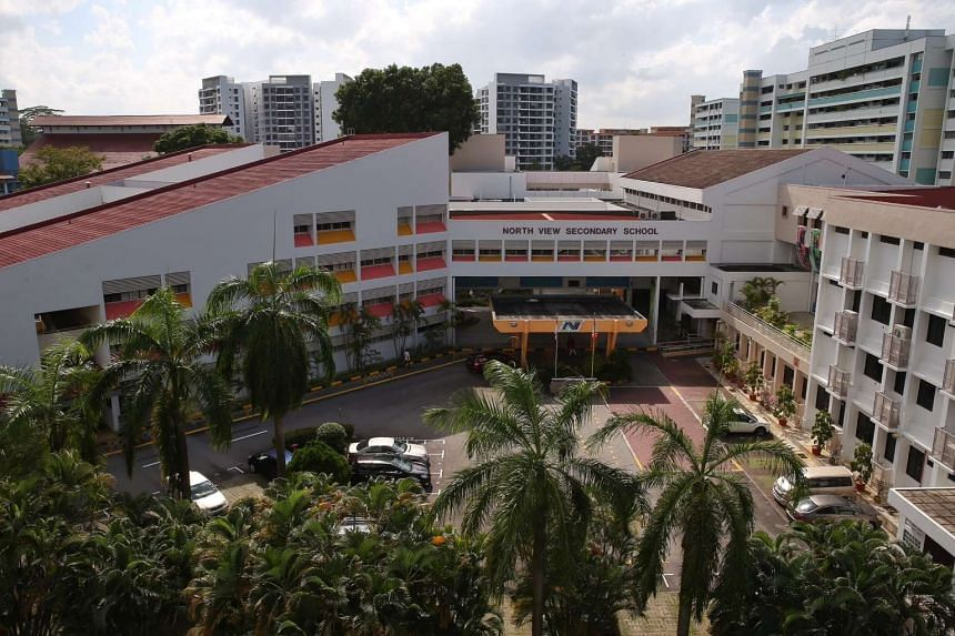 North View Seconday School, where 14-year-old Benjamin Lim was a student.