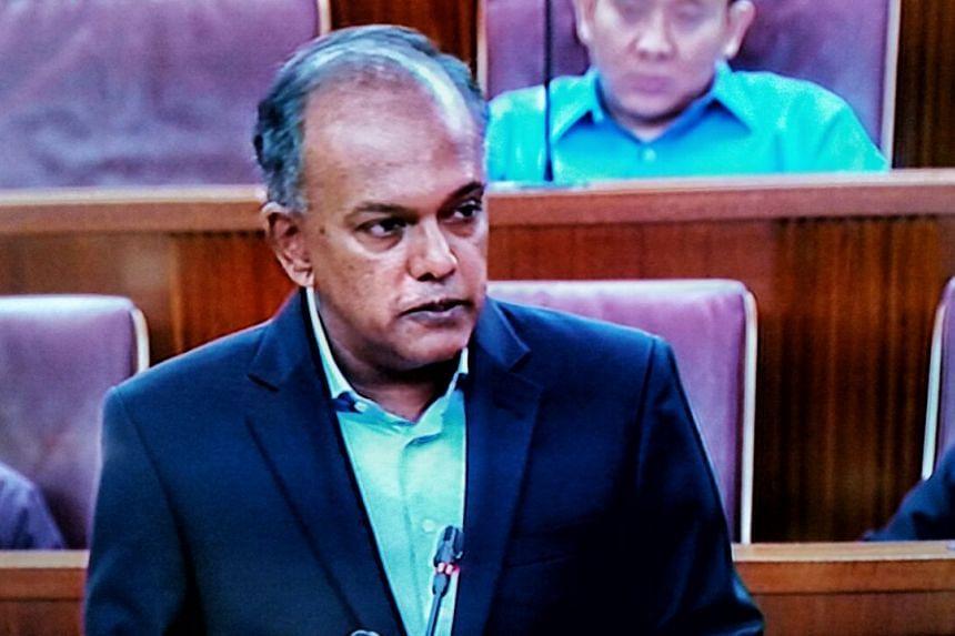 Mr Shanmugam said that Benjamin Lim would have received no more than a warning.