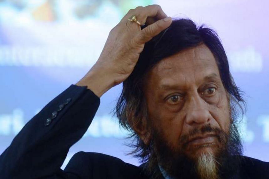 Former head of the United Nations climate change panel Rajendra Pachauri.