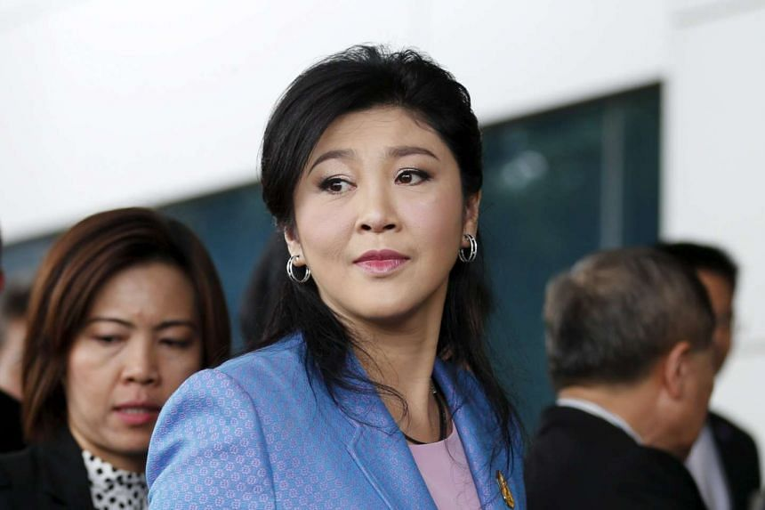 An opposition politician was summoned by Thailand's junta after berating a senior general for making sexist remarks against Yingluck Shinawatra (above).