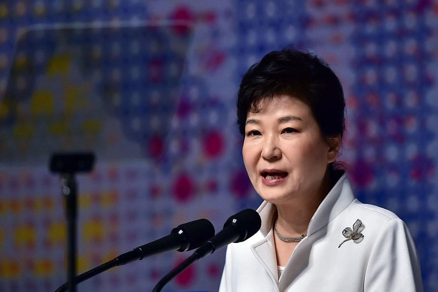 """A satire zoologist compared South Korean President Park Geun Hye (above) to an """"ugly female bat"""" in an article."""