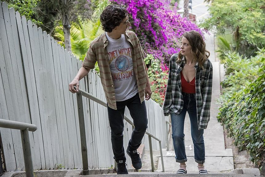 Love is marred by the weak chemistry between Paul Rust and Gillian Jacobs.